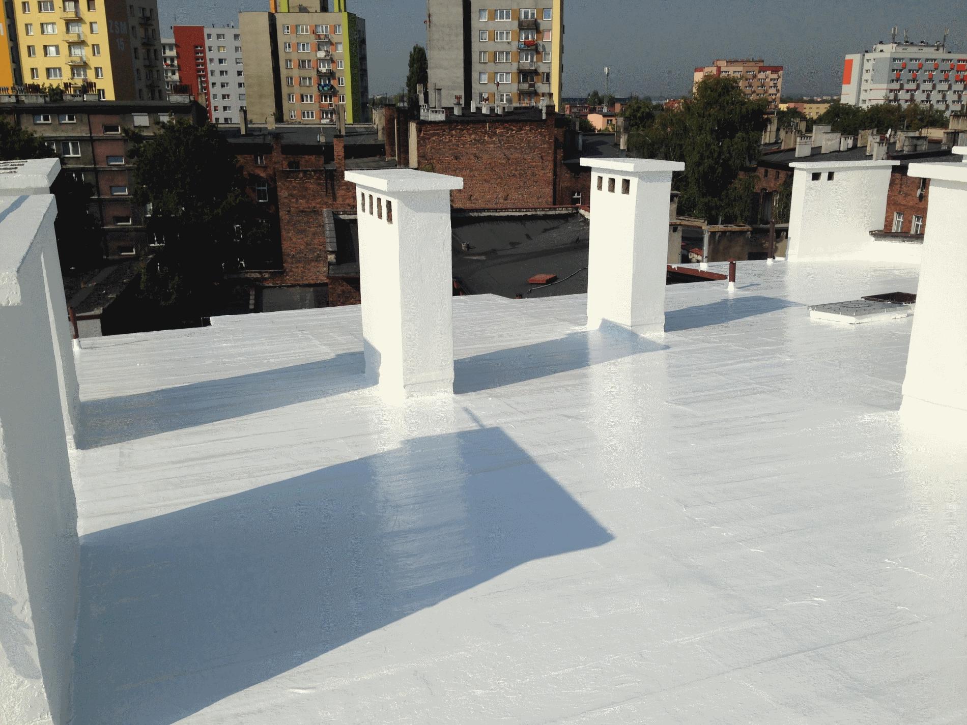 dach z papą - uszczelnianie