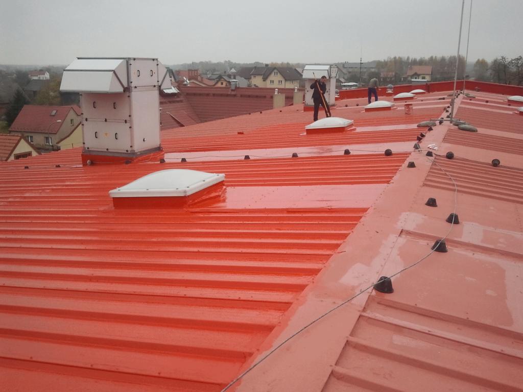 uszczelnianie dachu