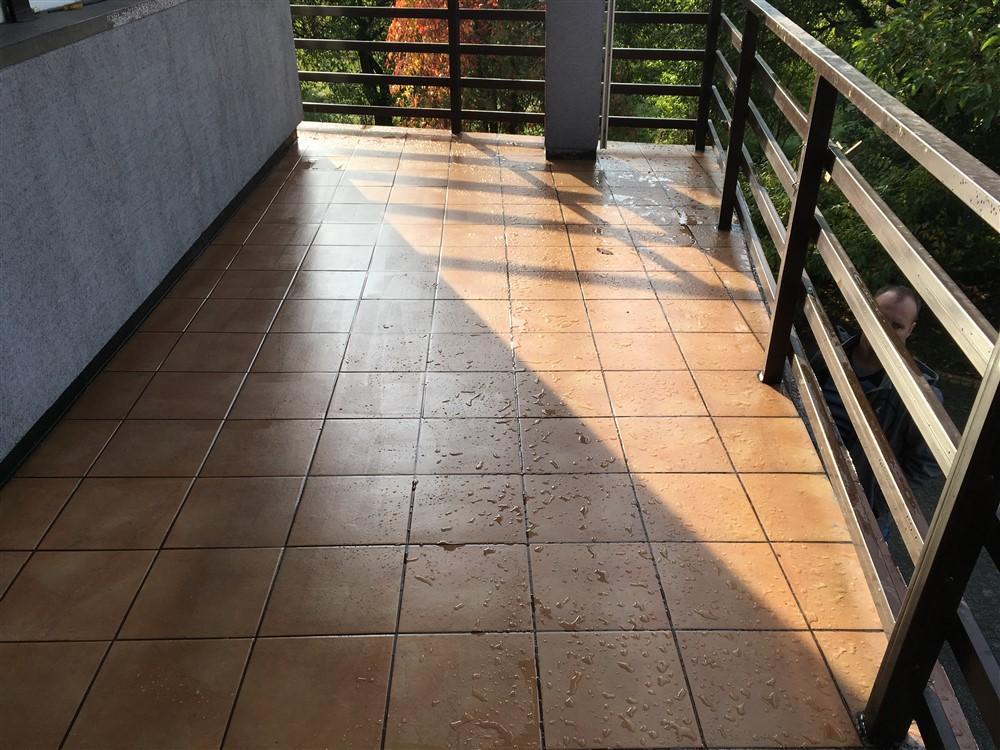 Po aplikacji powłoki DuroTRANS TOP-M (po deszczu)
