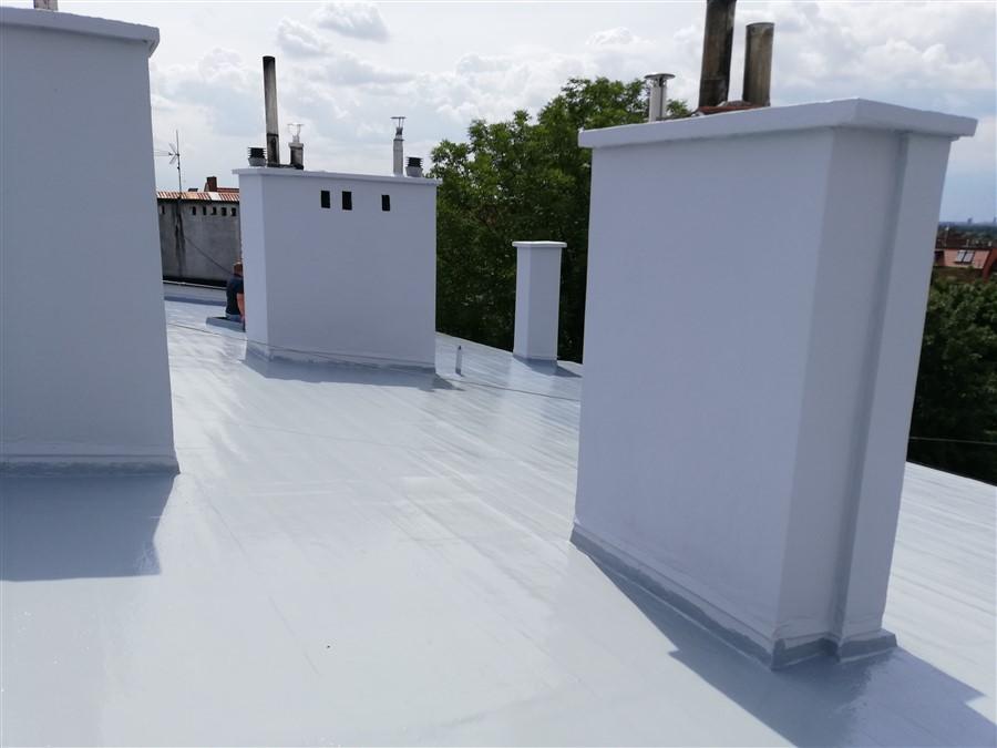 Renowacja dachu z papy w technologii DuroDACH R